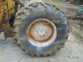 Two 14 9 24 Tractor Tires on 13 Rims