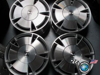 Four 06 11 Honda Civic Factory 15 Wheels Rims 64002 SNC560D