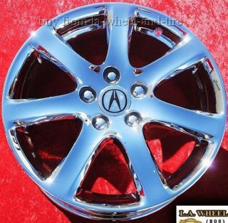 17 ACURA TSX OEM FACTORY CHROME WHEELS RIMS CSX MDX SET EXCHANGE 71731