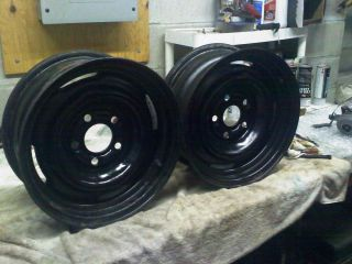 Set of Ford 14 x 5 5 Steel Rims