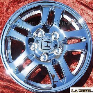 Set of 4 New 15 Honda CR V Chrome Wheels Rims Accord Civic Exchange