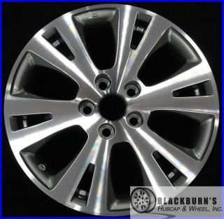 12 Toyota Avalon 17 Machined Charcoal Wheel Factory Rim 69531