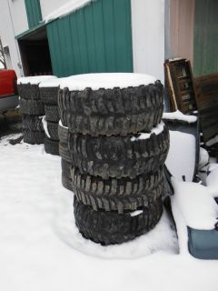 35 x 14 50 16 5 Super Swamper Bogger Tires on 6 Lug Wheels Will SHIP