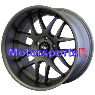 Gun Metal Staggered Wheels Rims 5x114 3 09 13 Nissan 370Z Base