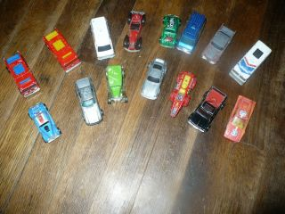 Hot Wheels Antique 15 Total Vintage Cars Fire Trucks