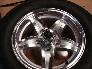 14 Boat Utility Stock Aluminum Trailer Wheels Tires R
