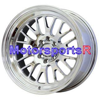16 16x8 XXR 531 Platinum Rims Wheels Deep Dish Stance 4x100 95 02