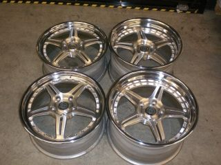 HRE C97 19 Staggered Competition Rims Wheels Porsche 997 Narrow Body