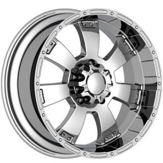 815 KRAWLER EXPEDITION 6X135 NAVIGATOR SUPER DUTY WHEELS RIMS CHROME