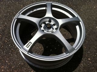 ENKEI RS5 JDM 18 WHEEL RIM 4x100 4X114 +40 ADVAN VOLK VIP work gtc