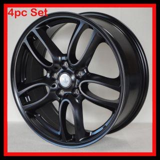 19 Wheels Fits Mini Cooper Countryman Black Double Spoke Wheels