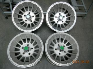 Set of Used Vector 14X7 Wheels Chevy Van Ford Dodge Mopar Hurricane
