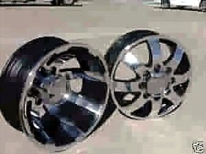 17 Eagle 097 098 Dually Wheels Rims Chevy 3500 Dodge 3500