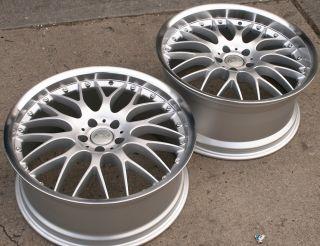 Adr M Classic 19 Silver Rims Wheels Nissan 350Z Coupe 19 x 8 5 9 5 5H