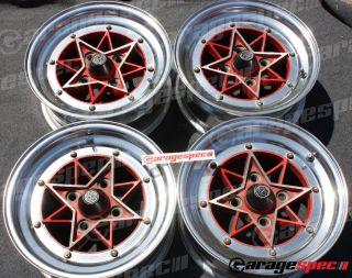 SSR Sharks Wheels Rims JDM Old School Very RARE AE86 Cressida Datsun