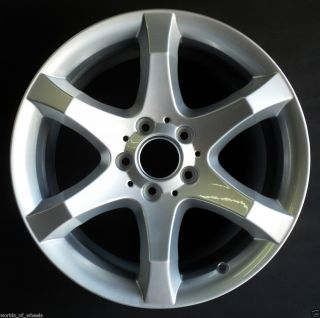 Mercedes C230 C350 17 6 Spoke Rear Factory OEM Alloy Wheel Rim H 65437