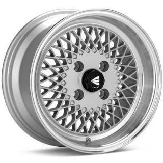15 ENKEI92 Silver Rims Wheels 15x8 25 4x100 BMW 2002 E30 Mazda Miata