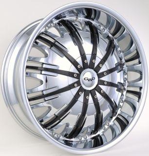 GWG G25 20 Chrome Wheels Rims Cadillac DTS DTX Eldorado Seville SRX