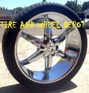 24 inch PHINO18 Rims and Tires Yukon Escalade Tahoe Escalade Suburban
