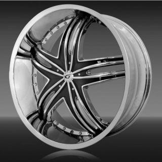 18 Gianna Envy Wheels Rims Tire Acura BMW Honda Nissan