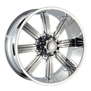 Dcenti 903 8 lug Wheels Rims Hummer H2 325 35 28 inch Tires 24 26 22