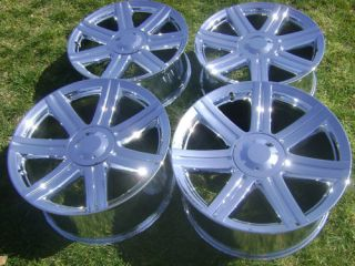 New 18 19 Chrysler Crossfire Factory Chrome Wheels