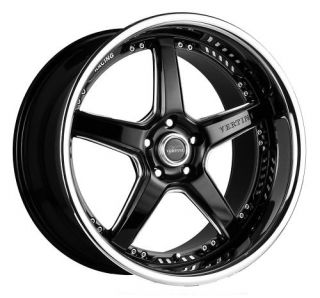 20 VERTINI DRIFT RIMS WHEELS 20x8.5 +35 5x114.3 ECLIPSE CAMRY ALTIMA