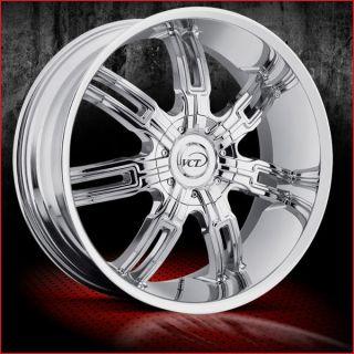 30x9 5 VCT Mafioso 30 inch Chrome Wheels Dub MHT