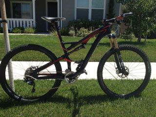 2012 Specialized Camber Pro Carbon 29er w 650B Wheels