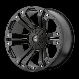 20 Inch Black Rims Wheels Chevy Truck Silverado 1500 Tahoe Suburban
