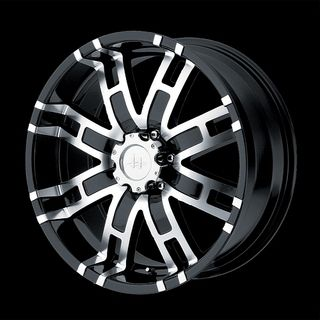GLOSS BLACK WITH 33X12 50X20 FEDERAL COURAGIA MT TIRES RAM WHEELS RIMS