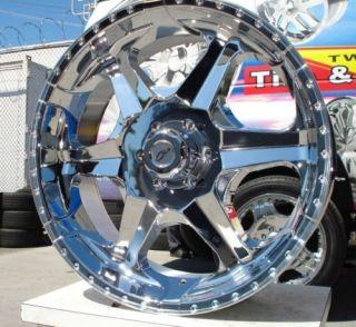 24 inch 866 Rims Tires Hummer H3 Sierra Yukon Tahoe