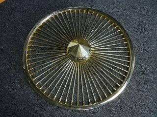 17 Gold Spinning Wire Wheels Floaters Spinners 24KT Gold Knockoffs