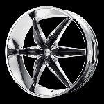 26 inch Chrome Rims Wheels Chevy Truck Silverado Tahoe