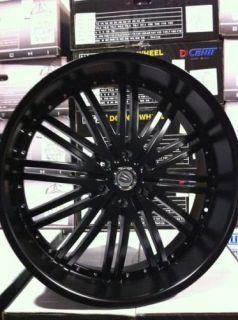 26 inch Rims Tires Versante 212 Silverado 08 09
