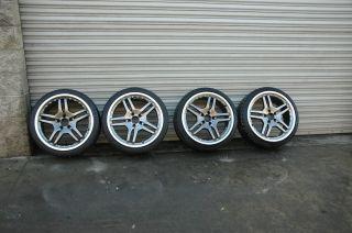 AMG Style Staggered Wheels Mercedes Benz SL65 SLK 55 Rims 5x112