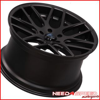 20 Audi A7 Rohana RC26 Concave Black Staggered Wheels Rims