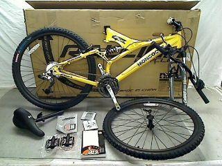 Tech 4 Mens Dual Suspension Mountain Bike (26 Inch Wheels, 18 FRAME