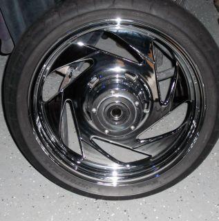 Boulevard M109r Vzr 1800 Chrome Rims Front Rear Wheels are Stock OEM