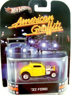 2013 HOTWHEELS RETRO ENTERTAINMENT AMERICAN GRAFFITI 32 FORD MINT VHTF