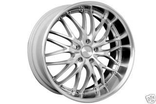 20 MRR Silver GT1 Rims Wheels 350Z 370Z G35 G37 Mustang