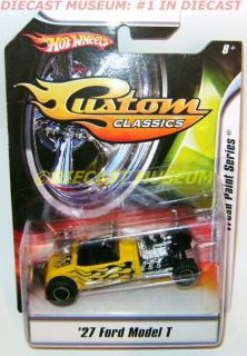 1927 27 Ford Model T Custom Classics Hot Wheels HW Diecast RARE