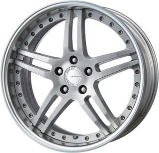 19 Work Gnosis GS 2 Silver Rims Wheels x3 E36 E46 Z4 M3