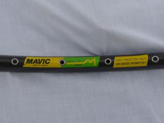 Mavic Mach 2 CD Tubular Rim 36 Hole Single Rim