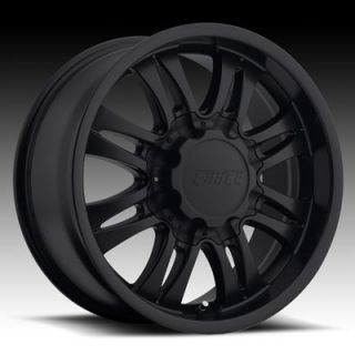 18 WHEELS RIMS AMERICAN EAGLE 059 BLACK 6 8 LUG 18 x8 5 EAGLE 059 0598