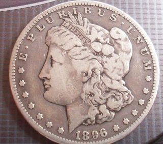 MORGAN SILVER DOLLAR LOT HAIR AND FEATHER DETAIL DEF RIMS 5M MINTED