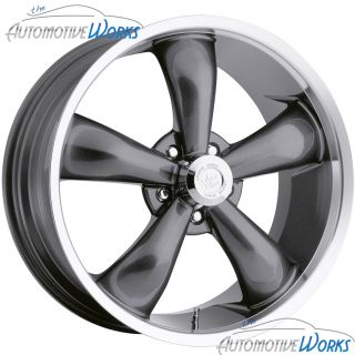Vision Legend 5 5x127 5x5 38mm Gun Metal Wheels Rims inch 18