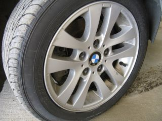 Wheels and Tires Set of 4 Rims Tires 325i 528i E46 E39 E48 BMW Rims
