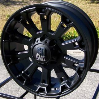 18 XD Misfit Wheels Rim 2011 Up Chevy Silverado GMC Sierra 2500 3500