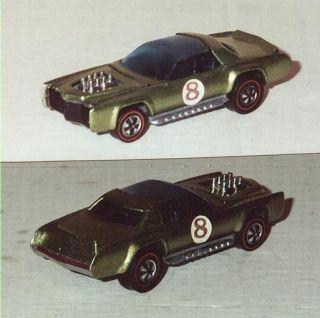 Sugar Caddy Hot Wheels Red Line Diecast Car 6418 1971